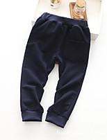 Pantalons Garçon Décontracté / Quotidien Géométrique Coton Printemps