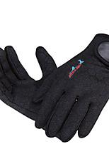 glove black RED