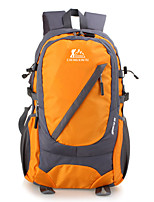 30 L Hiking & Backpacking Pack Camping & Hiking Climbing Rain-Proof Dust Proof Multifunctional Blue Clover Orange