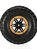 General RC Tires Neumático Coches RC / Buggy / Camiones Rojo Blanco Azul Amarillo Goma pet Plástico 4 PIEZAS