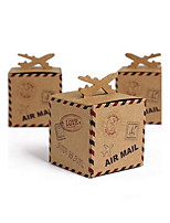 50 Piece/Set Favor Holder-Cubic Card Paper Favor Boxes Favor Bags 6 x 6 x 6 cm/pcs Beter Gifts® Party Decoration