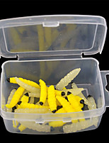 2 pcs Soft Bait Random Colors 2 g Ounce mm inch,Plastic General Fishing