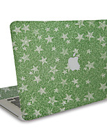 1 pièce Anti-Rayures 3D En Plastique Transparent Décalcomanie Brillant Motif PourMacBook Pro 15'' with Retina MacBook Pro 15 '' MacBook