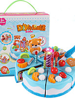 Pretend Play Toy Kitchen Sets Toy Foods Circular Leisure Hobby PVC Boys´ Girls´