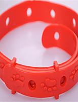 Cat Collar Adjustable/Retractable Solid Rubber