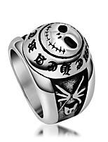 Кольцо Титановая сталь Euramerican Серебряный Бижутерия Повседневные 1шт