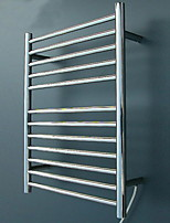 Electro-thermal Towel Racks & Holders Modern Rectangle Stainless Steel