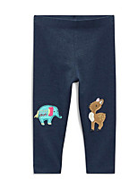 Girls' Casual/Daily Animal Print Pants-Cotton All Seasons