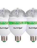 3W Spot LED 3 LED Haute Puissance 250 lm RVB Décorative AC 85-265 V 3 pièces