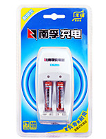 NANFU AAA Nickel Metal Hydride Rechargeable Battery 1.2V 900mAh 2 Pack