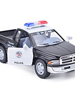 Truck Pull Back Vehicles Car Toys Metal Black Model & Building Toy