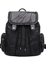 Women Sheepskin Formal Sports Casual Event/Party Office & Career Shopping Outdoor Backpack All Seasons