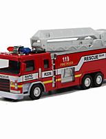 Пожарная машина Игрушки 1:32 Металл Пластик Серебристый