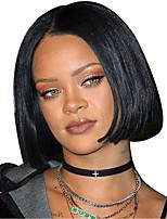 Summer Short Wig Straight Lace Front Bob Wigs Human Hair Short Bob Wigs Natural Black Color Bob Straight Lace Front Wig