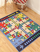 Casual Polypropylene Area Rugs(100*130cm)