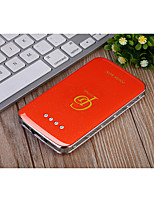 8800mAh The New Fashion Set Auger Ultrathin Crystal  Power Supply
