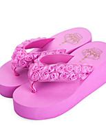 Women's Sandals Spring Summer Fall Comfort Novelty PU Outdoor Casual Wedge Heel Applique Walking