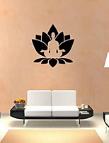 Shapes Wall Stickers Plane Wall Stickers Decorative Wall Stickers Health Yoga Studio Vinyl Material Home Decoration Wall Decal