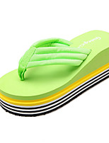 Women's Slippers & Flip-Flops Spring Summer Creepers Comfort Novelty Customized Materials Office & Career Dress Casual Flat Heel
