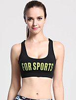 Women's Sleeveless Running Tops Breathable Comfortable Sports Wear Running Terylene Tight Classic Solid