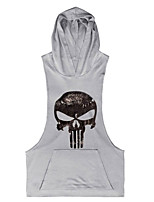 The Latest Men's Fashion Sleeveless Hooded Vest