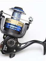 Molinetes de Pesca Molinetes Rotativos 5.2:1 5 Rolamentos Destro Pesca Geral-FC4000