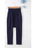 Girls' Casual/Daily Solid Pants-Nylon Summer Spring