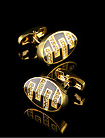 Gold Luxury Shirt Cufflinks for Mens Gifts Brand Cuff Buttons Crystal Cuff links Euramerican Men's Cuff Wedding Jewelry