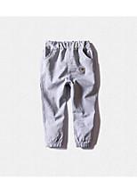 Pantalons Garçon Décontracté / Quotidien Couleur Pleine Coton Printemps