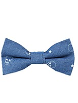 Retro Wind Denim Cotton Bow Tie Butterfly