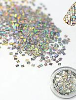 1 bottle Decoración de uñas Las perlas de diamantes de imitación maquillaje cosmético Dise?o de manicura