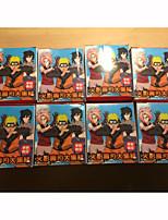 Figures Animé Action Inspiré par Naruto Cosplay PVC 8 CM Jouets modèle Jouets DIY