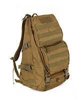 16 L Hiking & Backpacking Pack Camping & Hiking Hunting Outdoor Wearable Khaki Oxford