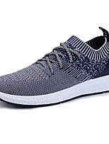 Men's Sneakers Spring Summer Fall Winter Mary Jane Comfort Light Soles Tulle Outdoor Athletic Casual Flat Heel Gore Running