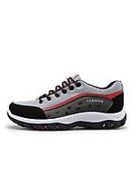 גברים-נעלי אתלטיקה-טול בד-נוחות-צהוב אדום כחול-שטח ספורט-עקב שטוח