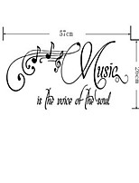 Music Wall Stickers Plane Wall Stickers Decorative Wall Stickers,Vinyl Material Home Decoration Wall Decal