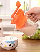 1 Pças. Apple Melancia Laranja Amarelo Alaranjado manual Juicer For Fruta Vegetais PlásticoMultifunções Gadget de Cozinha Criativa