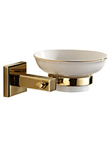 Soap Dishes & Holders Modern Brass gold