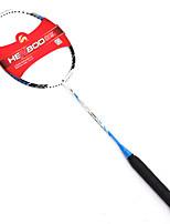 Raquetes para Badminton Durabilidade Fibra de Carbono 1 Peça para Interior Ao ar Livre Espetáculo Praticar Esportes de Lazer-#