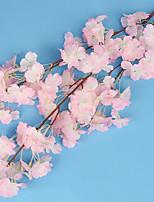1 Une succursale Soie Fleurs artificielles 100