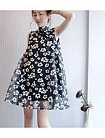europæiske grand prix 2016 sommeren nye kvinder tilstrømning af europæiske varer udskrivning løs dukke afsnit ærmeløs organza kjole