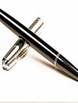 Bolígrafo Bolígrafo Plumas estilográficas Bolígrafo,Plástico Barril Negro colores de tinta For Suministros de la escuelaMaterial de