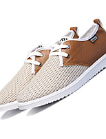 Men's Sneakers Summer Fall Comfort Tulle Outdoor Athletic Casual Low Heel Lace-up