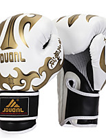 Boxing Gloves Boxing Training Gloves for Boxing Martial art Taekwondo Mittens Shockproof Wearproof High Elasticity Protective PUWhite