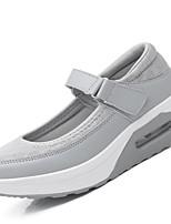 Women's Sneakers Summer Fall Comfort Light Soles Tulle Outdoor Athletic Casual Low Heel