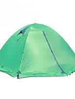3-4 Personen Doppel Einzimmer Camping ZeltGrün Blau Orange
