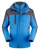 Муж. Куртки 3-в-1 Зимняя куртка Катание на лыжах Отдых и Туризм Охота Снежные виды спорта СноубордингВодонепроницаемый Дышащий Сохраняет