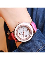 Women's Fashion Watch Quartz Alloy Band Black White Blue Pink Rose