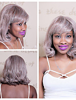 40 centímetros de cabelo sintético resistente ao calor destaques mistura cor perucas curly curtos para mulheres afro-americanas