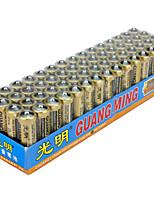 Guangming aa цинковый сухие батареи 1.5v 60 pack